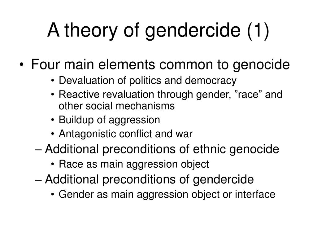 A theory of gendercide (1)