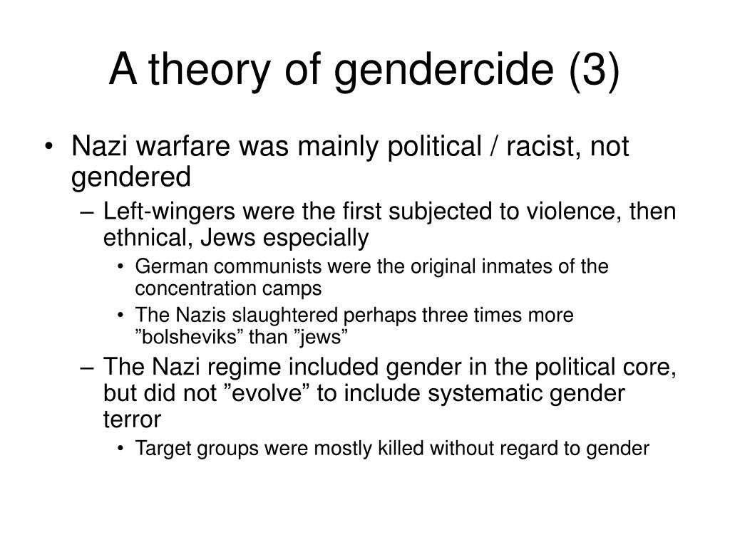 A theory of gendercide (3)