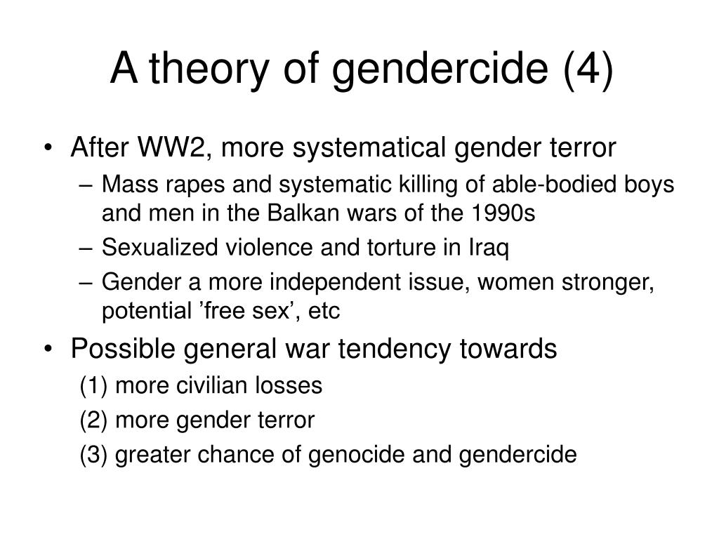 A theory of gendercide (4)