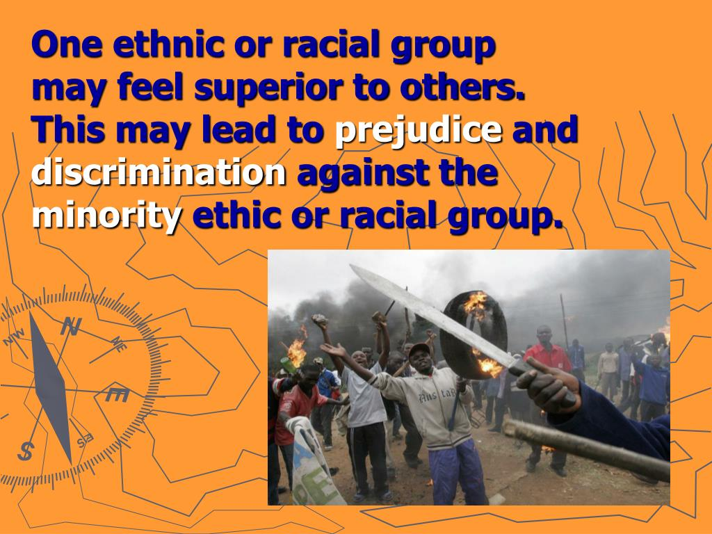 One ethnic or racial group