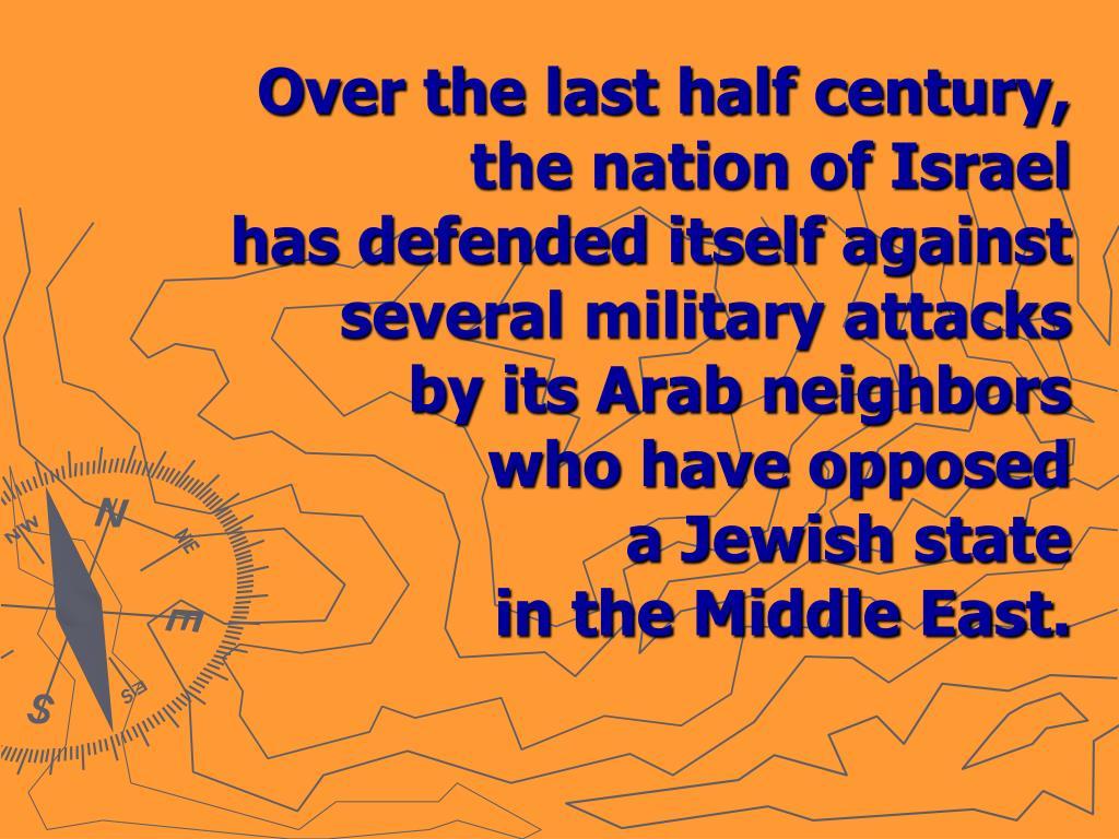Over the last half century,