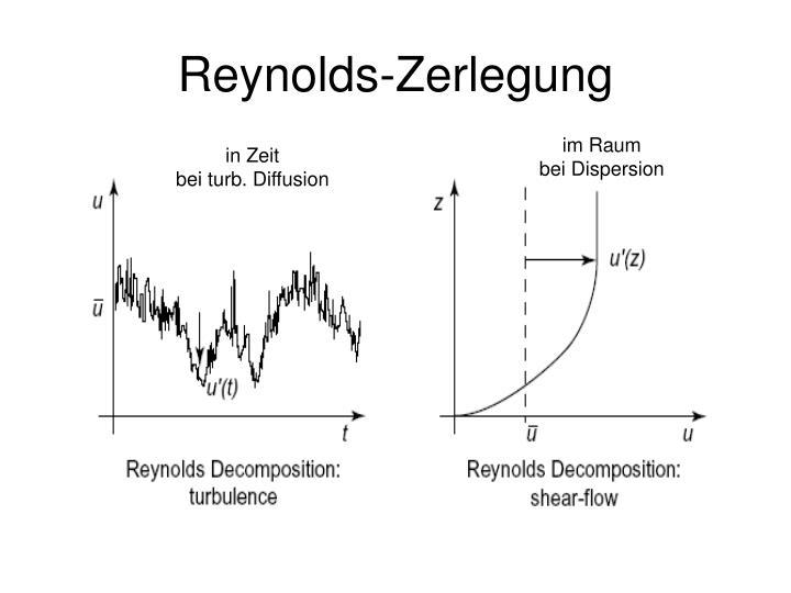 Reynolds-Zerlegung