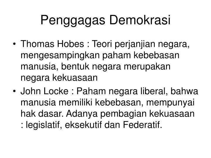 Penggagas Demokrasi