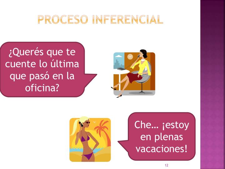 PROCESO INFERENCIAL