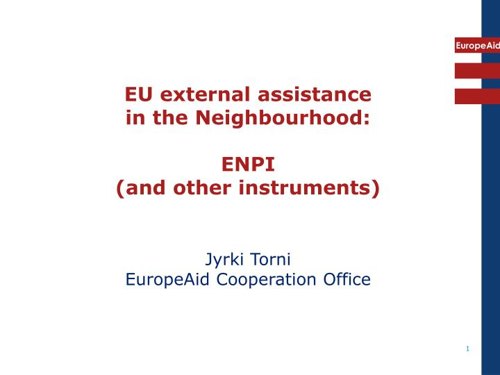 EU external assistance