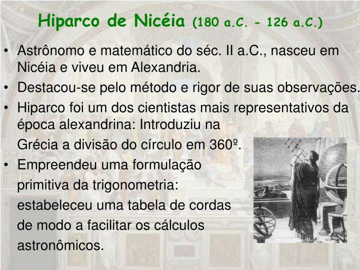 Hiparco de Nicéia