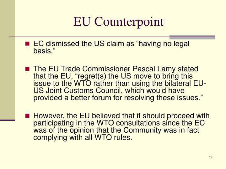 EU Counterpoint