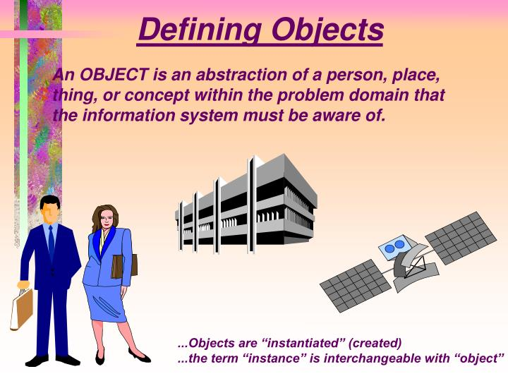 Defining Objects