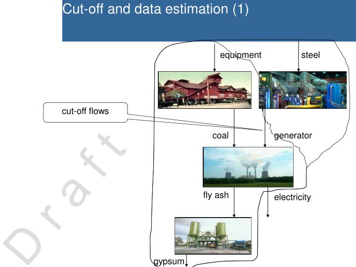 Cut-off and data estimation (1)
