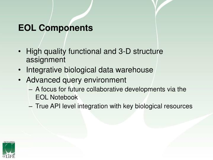 Eol components