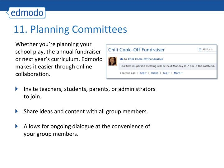 11. Planning Committees