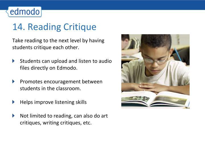 14. Reading