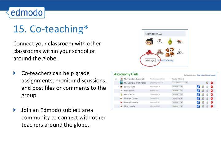 15. Co-teaching*