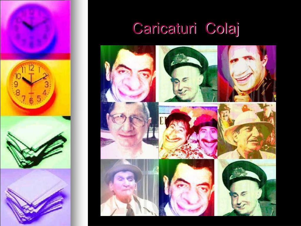 Caricaturi  Colaj