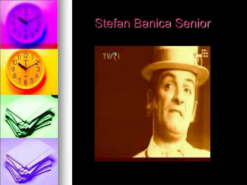 Stefan Banica Senior
