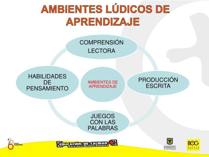 AMBIENTES LÚDICOS