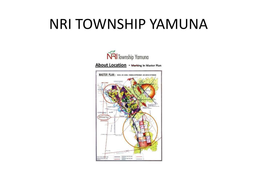 NRI TOWNSHIP YAMUNA