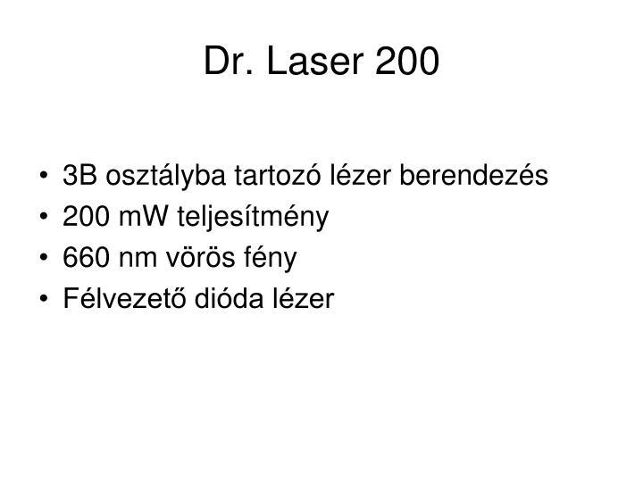 Dr. Laser 200