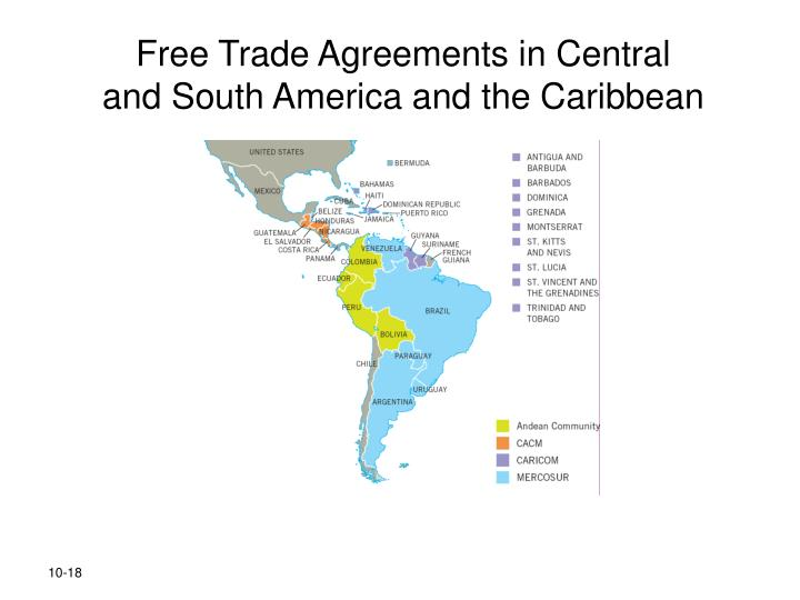 Free Trade Agreements in Central