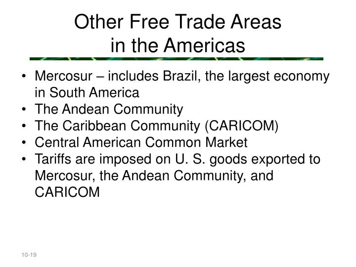 Other Free Trade Areas