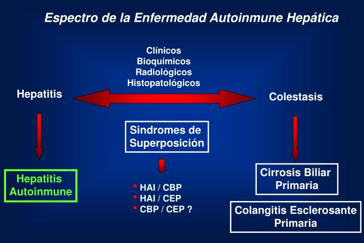 Espectro de la Enfermedad Autoinmune Hepática