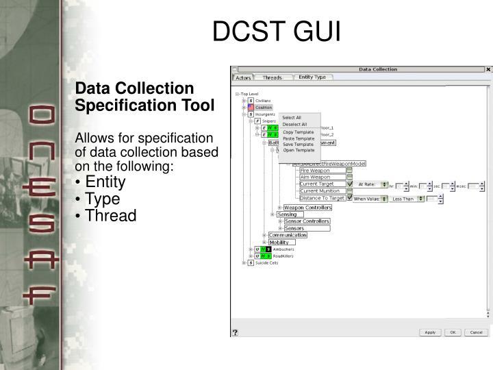 DCST GUI