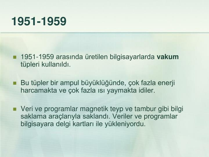 1951-1959
