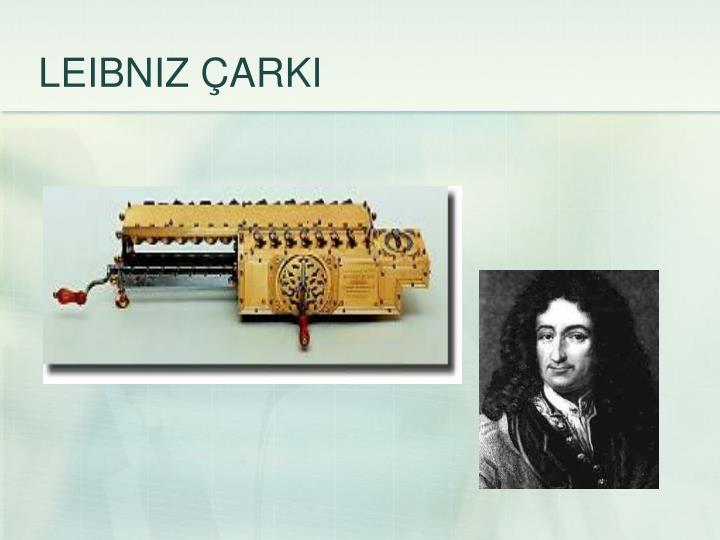 LEIBNIZ ÇARKI