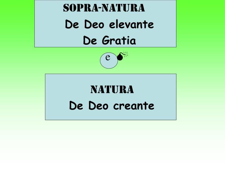 Sopra-natura