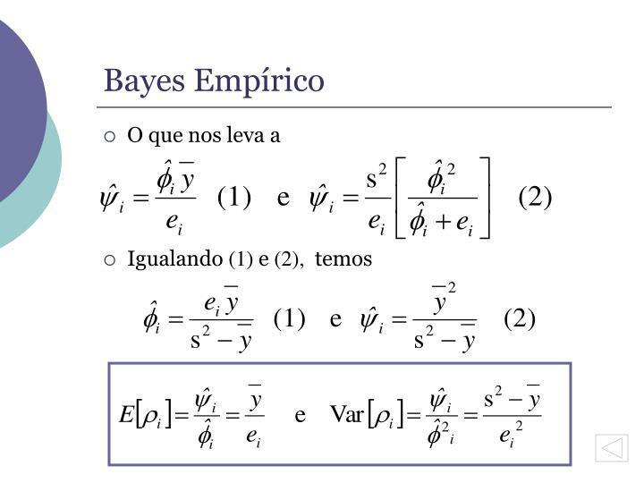 Bayes Empírico