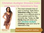 christian audigier dresses make your sexy for valentine s day