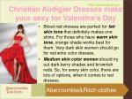 christian audigier dresses make your sexy for valentine s day4