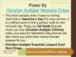 power by christian audigier womens dress