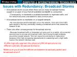 issues with redundancy broadcast storms