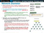network diameter