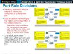 port role decisions2
