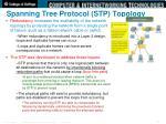 spanning tree protocol stp topology