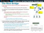 the root bridge