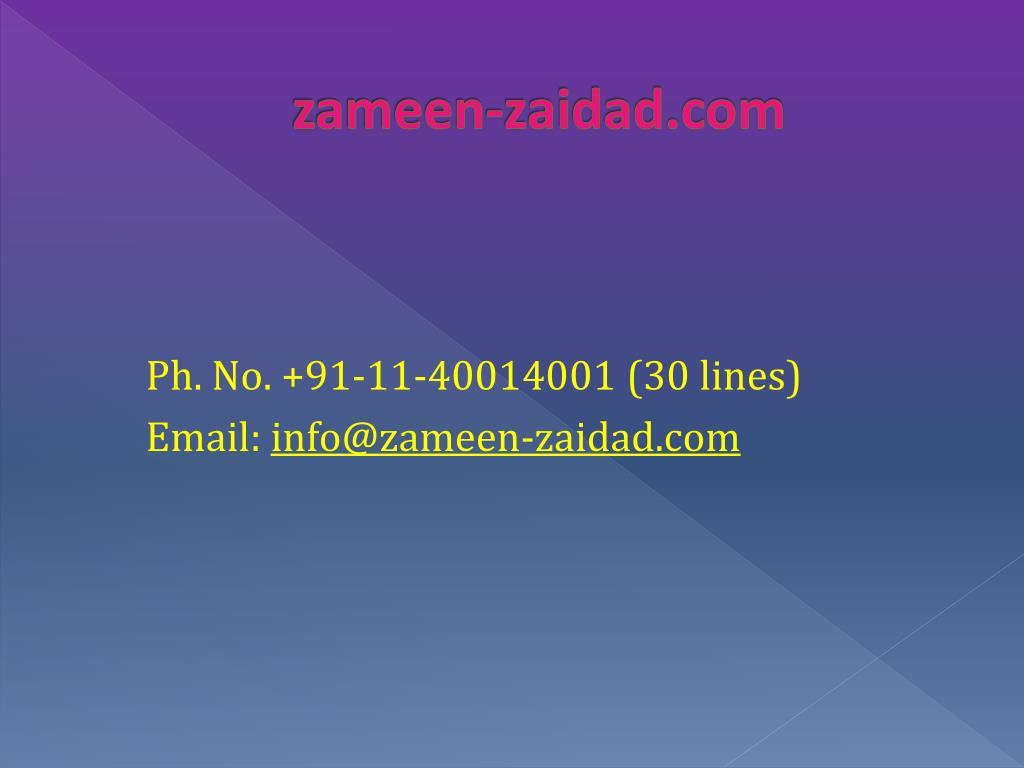 zameen-zaidad.com