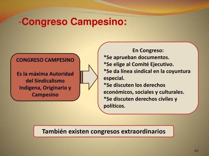 Congreso Campesino: