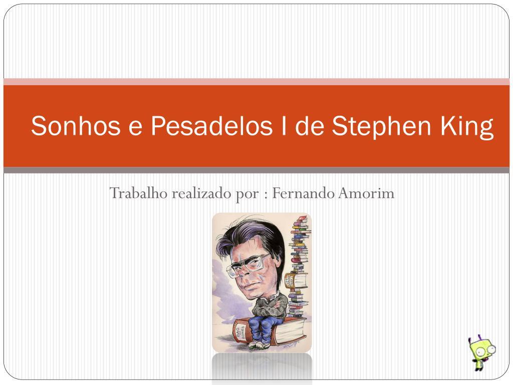 Sonhos e Pesadelos I de Stephen King