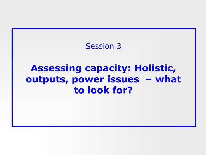 Session 3