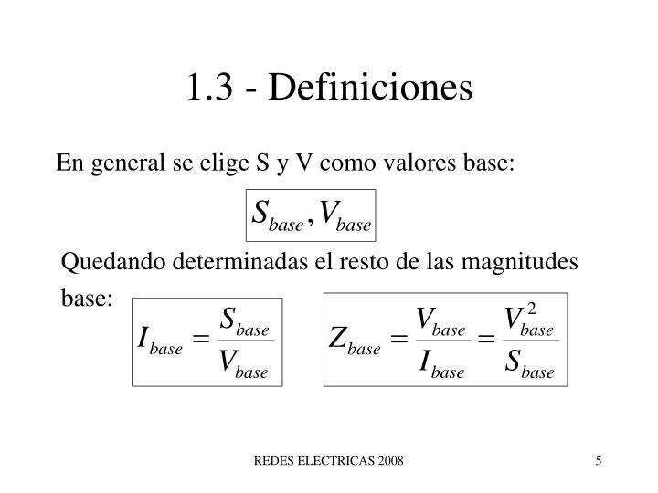 1.3 - Definiciones