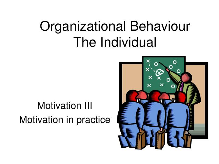 notes organizational behavior
