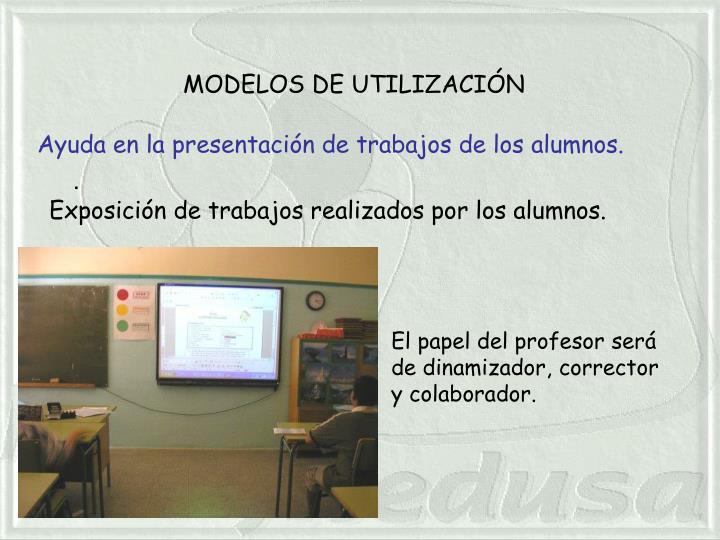 MODELOS DE UTILIZACIÓN