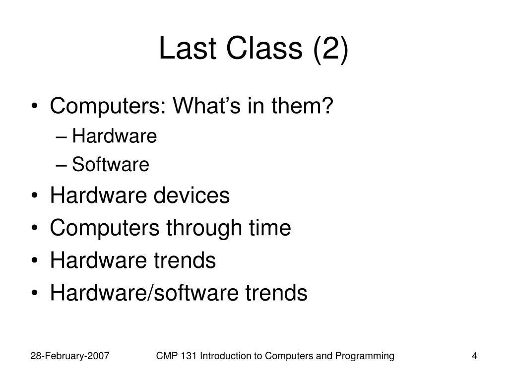 Last Class (2)