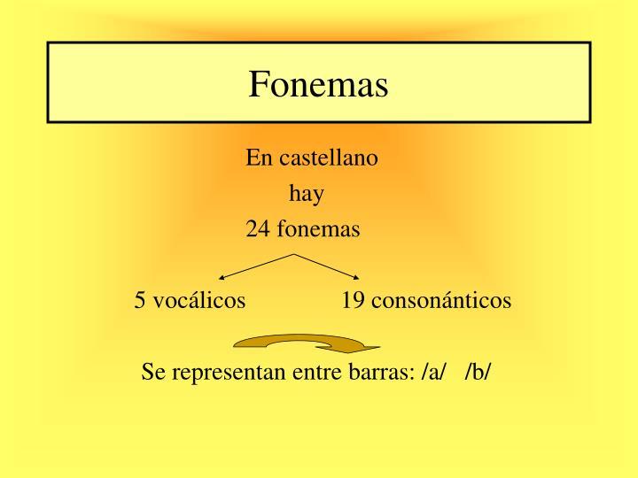 Fonemas
