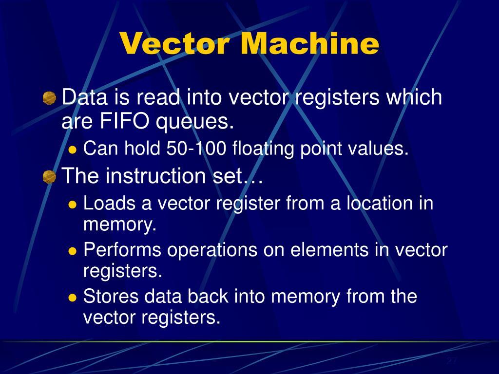 Vector Machine