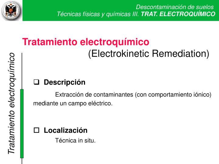 Trat electroquímico