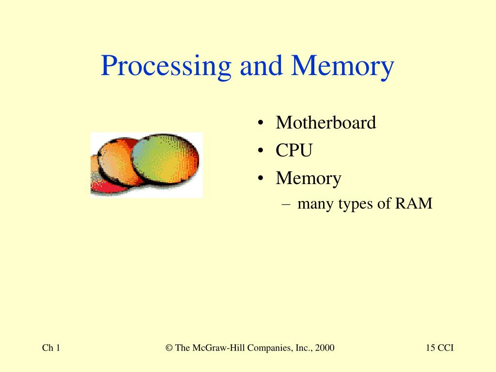 Processing and Memory